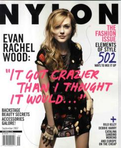 Nylon September 2007  Evan Rachel Wood by Scott Jarrett.preview