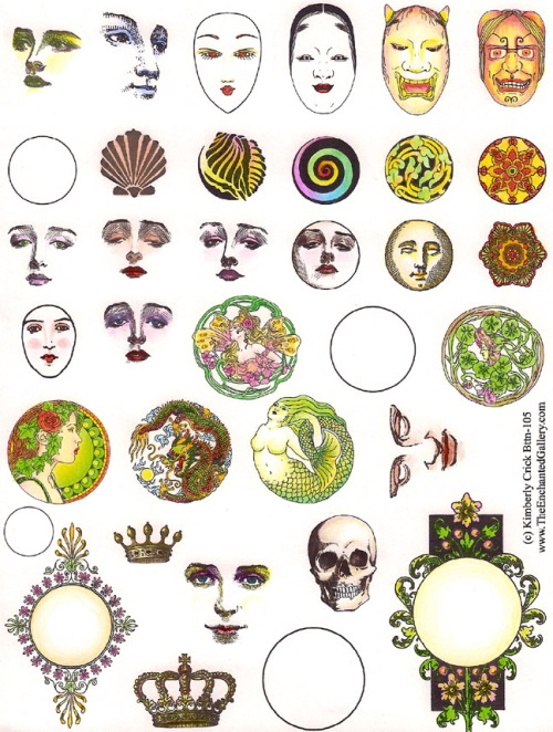 Color_Rubber_Stamp_Gallery-Face_Buttons