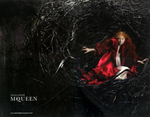 Alexander McQueen Fall-Winter  2008. 2009 Ad Campaign  Alice Gibb 2.preview